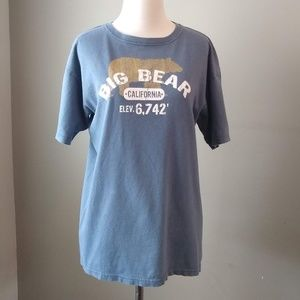 Big Bear California Mountains Men's T-Shirt Medium